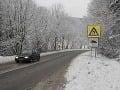 Počasie trápi vodičov: Na väčšine územia je poľadovica, v Tatrách hrozia lavíny