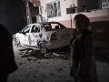 Výbuch bomby nastraženej v aute v Sýrii: Zahynuli pritom štyria tureckí vojaci