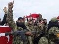 Sýrske provládne jednotky sa pustili do boja proti Tureckom podporovaným povstalcom