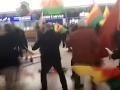 Turecký útok v Sýrii zasiahol aj Nemecko: VIDEO Masová bitka na letisku v Hannoveri