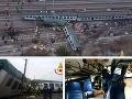 MIMORIADNA SPRÁVA Vlakové nešťastie pri Miláne: Hlásia obete, prvé zábery z miesta tragédie