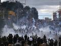 FOTO Hernández sa ujal postu v Hondurase: Ľud sa búri, za prezidenta ho nechcú