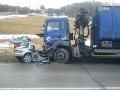 PRÁVE TERAZ Vážna nehoda pri Námestove: Vodič nemal žiadnu šancu, FOTO desivá čelná zrážka