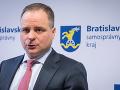 Bratislavský župan Juraj Droba bol ONLINE: Predstavil veľké plány pre kraj