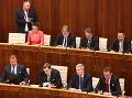 Prvé zasadnutie parlamentu: VIDEO Útoky na Pellegriniho, hluk a drsné slová kotlebovcov