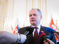 Výbor Národnej rady SR stále neukončil konanie voči prezidentovi Kiskovi