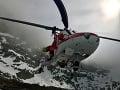 Zásahy leteckých záchranárov: Pomáhali českému lyžiarovi i chlapcovi z Poľska