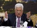 Palestínsky prezident Abbás oznámil prerušenie všetkých vzťahov s Izraelom a USA