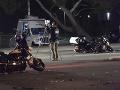 Nehoda v kolóne kanadského premiéra: FOTO Zdemolované motorky, policajt v nemocnici