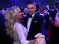 Braňo Záhradník s manželkou pri tanci.
