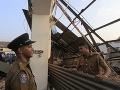 FOTO Panika v hlavnom meste Srí Lanky: Kolaps budovy usmrtil sedem ľudí