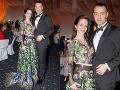 Tomáš Drucker s manželkou Luciou