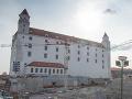 Rekonštrukcia Bratislavského hradu vrcholí: FOTO Do roku 2020 sa predvedie v plnej kráse
