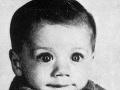 John Travolta ako dieťa.