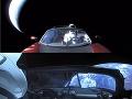 Dychberúce FOTO z unikátnej misie vo vesmíre: Auto Tesla letí okolo Zeme