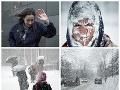 Mrazivá predpoveď počasia: Snehové peklo pokračuje, teploty majú klesnúť až na -19 stupňov