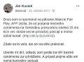 Ján Kuciak zverejnil na sociálnej sieti postup policajného vyšetrovania.