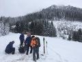 Skialpinista v problémoch: Horskí záchranári museli zasahovať