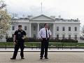 Poplach vo Washingtone: Pred Bielym domom sa strieľalo