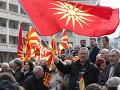 Protesty v Macedónsku