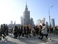 Varšavské ulice sa naplnili nespokojnými Poľkami: FOTO Pochodovali za práva žien v krajine