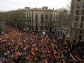 FOTO Katalánci opäť vyšli do ulíc: Žiadajú vznik autonómneho regiónu Tabarnia