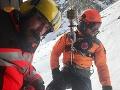 Horskí záchranári v plnej akcii: FOTO V Malej Studenej doline ratovali skialpinistu
