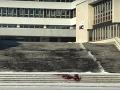 Krvavé tričká v uliciach Slovenska: VIDEO Krv sa objavila aj pred magistrátom v Košiciach