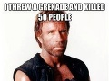 Hodil som granát a zabil som 50 ľudí. Potom granát vybuchol.