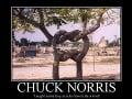Chuck Norris učil skautov viazať uzly.