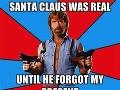 Santa Claus bol skutočný. Kým nezabudol na môj darček.