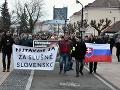 Najväčšie protesty od revolúcie pokračujú: Desaťtisíce Slovákov vyjdú do ulíc v týchto mestách