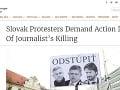 Slovensko vo svetových médiách v roku 2018: Vražda novinára, masové protesty aj mafia na Úrade vlády