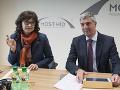 Z rokovania republikovej rady vládnej strany Most-Híd v centrále strany v Bratislave