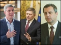 Béla Bugár, Robert Fico a Andrej Danko
