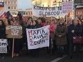Kým SMER oslavoval v Senici MDŽ, ľudia protestovali: VIDEO Prekvapivá reakcia účastníčky