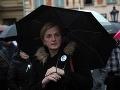 Mama zavraždenej Martiny opäť pred ľuďmi: VIDEO Gašpar musí odstúpiť, toto je fraška!