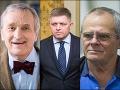 Kňažko i Markovič si vystrelili z Fica: Premiérkou by mala byť Trošková, snáď od nej nič nechytil