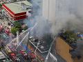 Na Filipínach horí obrovský hotel s kasínom: FOTO Štyri obete a niekoľko ranených