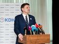KDH predstavilo dokument Oslava rodiny: Chcú 100 eur na každé dieťa zamestnaných rodičov