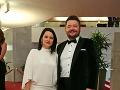 Michal Hudák s priateľkou Denisou