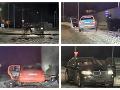 Košická naháňačka ako z filmu VIDEO Plyn, šmyk a havária: Organizovaná skupina a krádež BMW