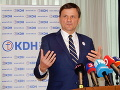 Ak Pellegrini neodvolá Gašpara, KDH bude protestovať pred sídlom policajného prezidenta