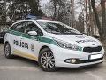 Policajný zákrok v obci