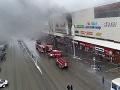 VIDEO Požiar v obchodnom dome zobral životy piatich ľudí: Ohnivá pasca, ľudia skákali z okien