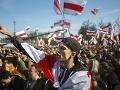 Ľudia v Minsku vyšli do ulíc: Protestovali proti Lukašenkovým plánom na znovuzvolenie