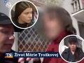 Markizácka redaktorka navštívila rodinu Márie Troškovej: Fyzický útok a vyhrážky zabitím!