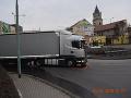 FOTO Hľadajú svedkov tragickej nehody v Hlohovci: Poľský kamionista (40) zabil muža (†47)
