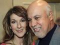 Céline Dion s manželom.