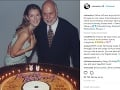 Céline Dion kedysi. Na fotografii s manželom.